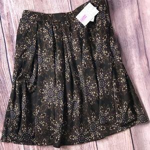 Lularoe Madison Skirt M NWT